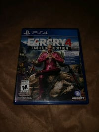 Farcry 4 PS4 Game Niagara-on-the-Lake, L0S 1J0