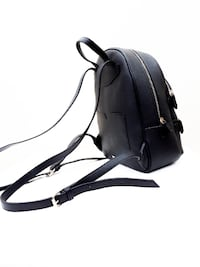 Black Leather Backpack - Call it Spring! (S-M) Markham