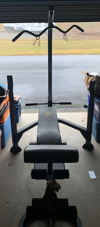 Weight bench barbell weights and barbell Cross Junction, 22625