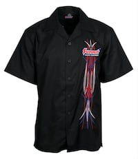 Summit Racing® Pinstriped Camp Shirt Las Vegas
