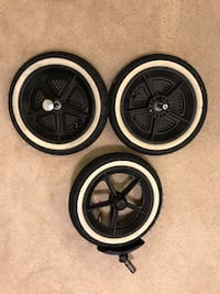 Phil and Teds Navigator Double Stroller Wheels