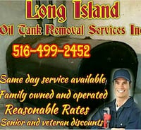 Oil Tank removal with or without oil West Babylon, 11704
