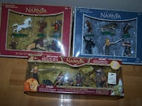 3 Chronicles Of Narnia - FIGURINE SETS ( 2 DISNEY STORE) Vaughan
