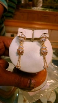 21k gold earrings Karachi