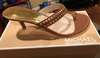 Size 9 Tan MK sandal Los Angeles, 90047