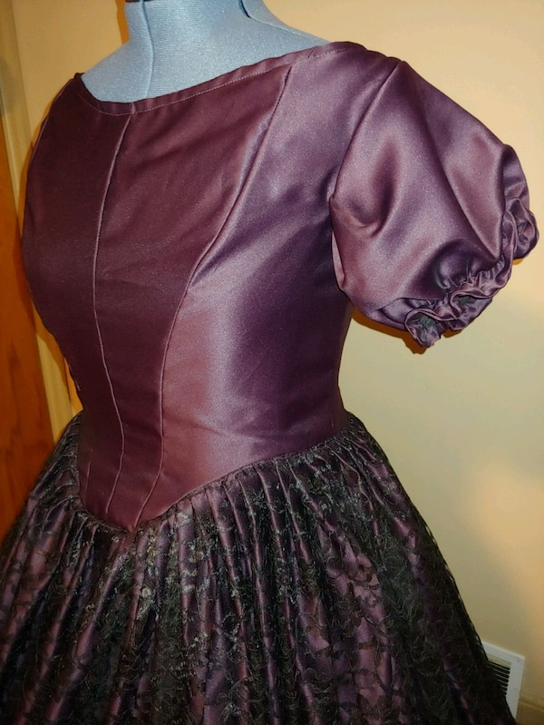 Handmade Civil War Ballgown 2