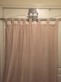 4 beige linen tab panel curtains New Tecumseth, L9R