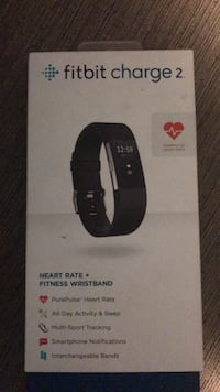 Black fitbit charge2 in box brand new Placerville, 95667