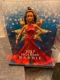 Brand new 2017 Holiday Barbie