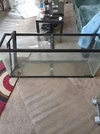 rectangular clear glass pet tank Washington, 20020
