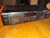 Sony TC-WE435 Stereo Dual Cassette Player Rollinsford