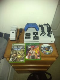 white Xbox One console with controller and game ca Ontario, 91764