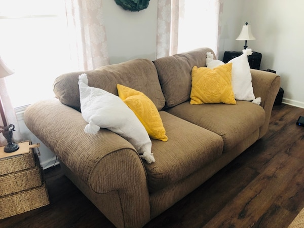 Most comfortable oversized living room set.