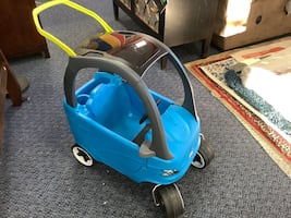 New Blue Car Push Ride On Toy