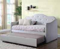 White and gray bed set Racine, 53405