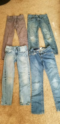 two blue and one gray jeans Modesto, 95351