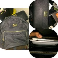 black and brown leather backpack Calgary, T2G 0Z5