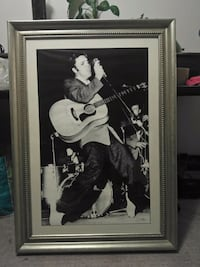 30x43 nicely frame Elvis picture,done in the 70's Richmond Hill, L4C 1A3