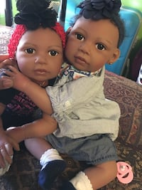 Absolutely adorable twin reborn  collectible Severn, 21144