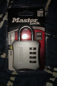 Never touched master lock