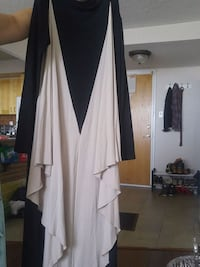 white and black long-sleeved dress Ottawa, K1T 2N5