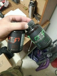 black and gray pre and post workout Fort Drum, 13602