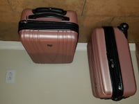 SUPER CUTE Pink HEY Hardcase Suitcases Las Vegas