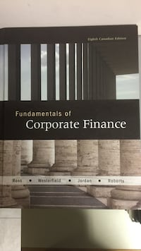 Fundamentals of Corporate Finance Vaughan, L4J 6S8