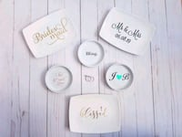 Personalized ring dishes Toronto, M9B 0A1