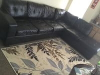 sectional couch with rug-$200 Garland, 75044