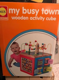 My busy town wooden activity cube Woodbridge, 22192