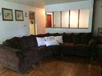 black and gray sectional couch Greeley, 80634