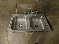 stainless steel sink with faucet Nashville, 37207