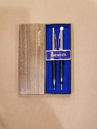 Sheaffer Pen and Pencil Set with Case