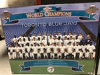 Blue Jays World Series Photo Plaque Mississauga, L4W