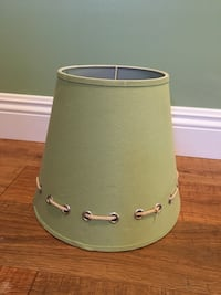 Green rope lamp shade lampshade