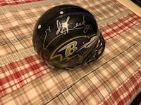 ED REED BALTIMORE RAVENS SIGNED FULL SIZE AUTHENTIC HELMET! Baltimore, 21212