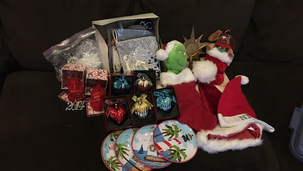 assorted christmas decorations - Used Christmas Decorations For Sale