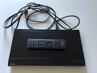 black DVD player with remote Los Angeles, 90028