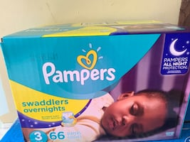 New pampers swaddlers size 3