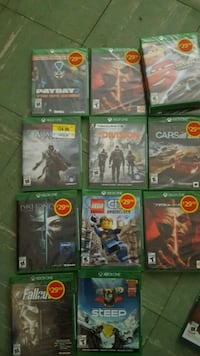 assorted Xbox One game cases London, N5W 4L6