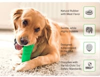 Stress-free dog toothbrush toy teeth cleaning + free oral care