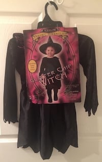 New Child Glitter Chip Witch Costume Size 24M to 2T Port Saint Lucie, 34953