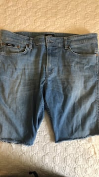 Hugo boss jean shorts only worn twice last summer grew out of them waist 32