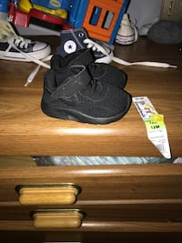 pair of black Nike basketball shoes Omaha, 68122