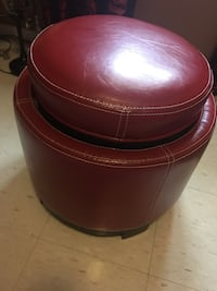 Leather ottoman and storage  Oakville, L6M