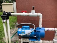pool pump & Sprinkler pump repair & installations Miramar