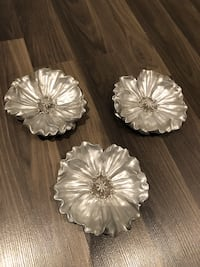 Silver wall decor set of three  Milton, L9T 0B3