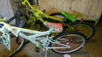 white and green full suspension bicycle Tonopah, 89049