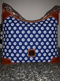 Dooney & Bourke Chicago Cubs Hobo Purse NWT